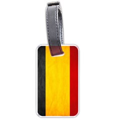 Belgium Flag Luggage Tags (two Sides)