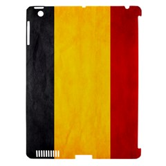 Belgium Flag Apple Ipad 3/4 Hardshell Case (compatible With Smart Cover)