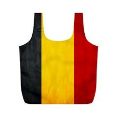 Belgium Flag Full Print Recycle Bags (m)