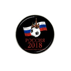 Russia Football World Cup Hat Clip Ball Marker