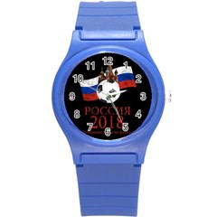 Russia Football World Cup Round Plastic Sport Watch (s)