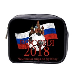 Russia Football World Cup Mini Toiletries Bag 2 Side