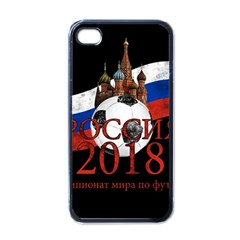 Russia Football World Cup Apple Iphone 4 Case (black)