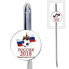 Russia Football World Cup Book Mark