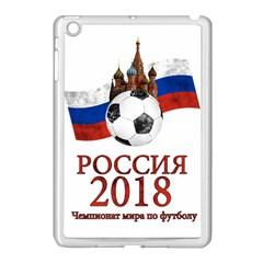 Russia Football World Cup Apple Ipad Mini Case (white)