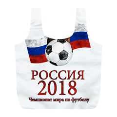 Russia Football World Cup Full Print Recycle Bags (l)