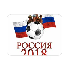 Russia Football World Cup Double Sided Flano Blanket (mini)