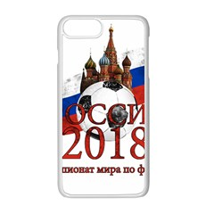 Russia Football World Cup Apple Iphone 8 Plus Seamless Case (white)