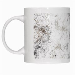Grunge Pattern White Mugs