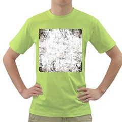 Grunge Pattern Green T Shirt