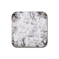 Grunge Pattern Rubber Coaster (square)