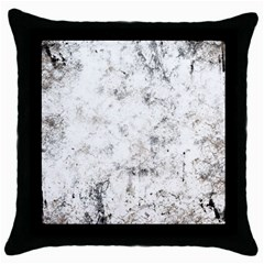 Grunge Pattern Throw Pillow Case (black)