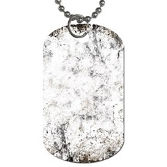 Grunge Pattern Dog Tag (one Side)