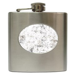 Grunge Pattern Hip Flask (6 Oz)