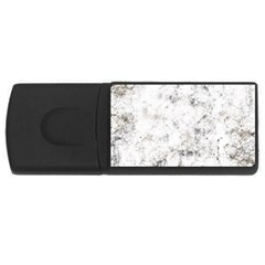 Grunge Pattern Rectangular Usb Flash Drive
