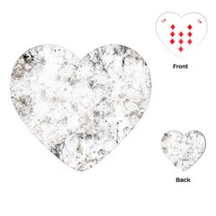 Grunge Pattern Playing Cards (heart)