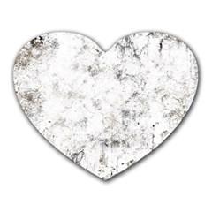 Grunge Pattern Heart Mousepads