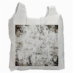 Grunge Pattern Recycle Bag (one Side)