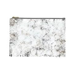 Grunge Pattern Cosmetic Bag (large)