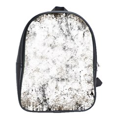 Grunge Pattern School Bag (large)