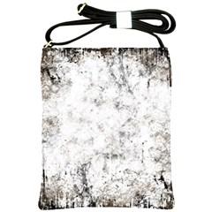 Grunge Pattern Shoulder Sling Bags