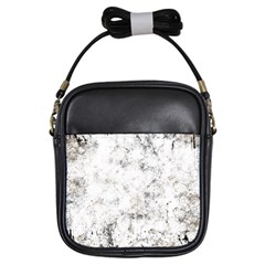 Grunge Pattern Girls Sling Bags