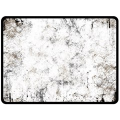 Grunge Pattern Fleece Blanket (large)