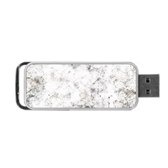 Grunge Pattern Portable Usb Flash (one Side)