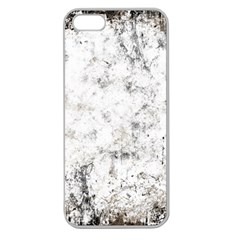 Grunge Pattern Apple Seamless Iphone 5 Case (clear)