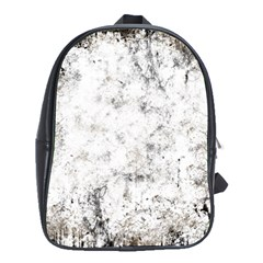 Grunge Pattern School Bag (xl)