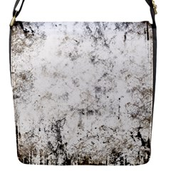Grunge Pattern Flap Messenger Bag (s)