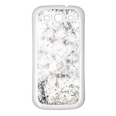 Grunge Pattern Samsung Galaxy S3 Back Case (white)