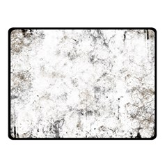 Grunge Pattern Double Sided Fleece Blanket (small)
