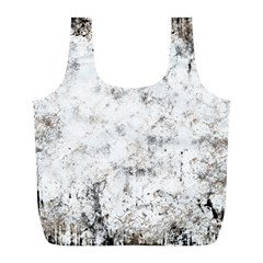 Grunge Pattern Full Print Recycle Bags (l)