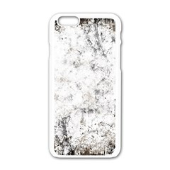 Grunge Pattern Apple Iphone 6/6s White Enamel Case