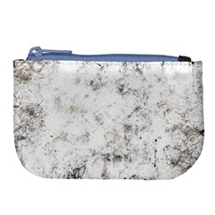 Grunge Pattern Large Coin Purse