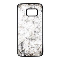 Grunge Pattern Samsung Galaxy S7 Black Seamless Case