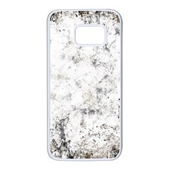 Grunge Pattern Samsung Galaxy S7 White Seamless Case