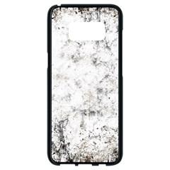 Grunge Pattern Samsung Galaxy S8 Black Seamless Case