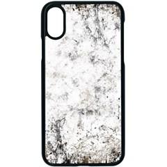 Grunge Pattern Apple Iphone X Seamless Case (black)