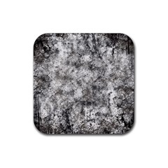 Grunge Pattern Rubber Square Coaster (4 Pack)