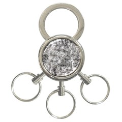 Grunge Pattern 3 Ring Key Chains
