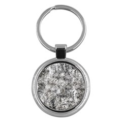 Grunge Pattern Key Chains (round)