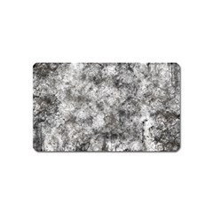 Grunge Pattern Magnet (name Card)