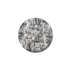 Grunge Pattern Golf Ball Marker