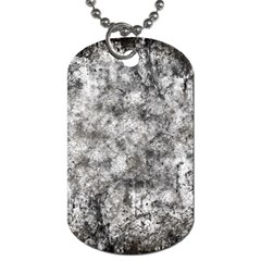 Grunge Pattern Dog Tag (two Sides)