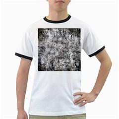 Grunge Pattern Ringer T Shirts