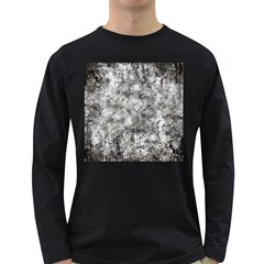 Grunge Pattern Long Sleeve Dark T Shirts