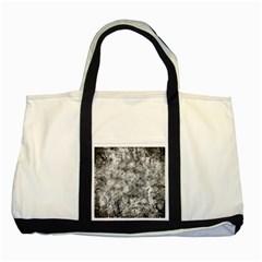 Grunge Pattern Two Tone Tote Bag