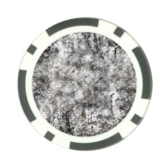 Grunge Pattern Poker Chip Card Guard